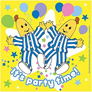 Bananas In Pyjamas Lunch Napkins Pack Of 16 One Size