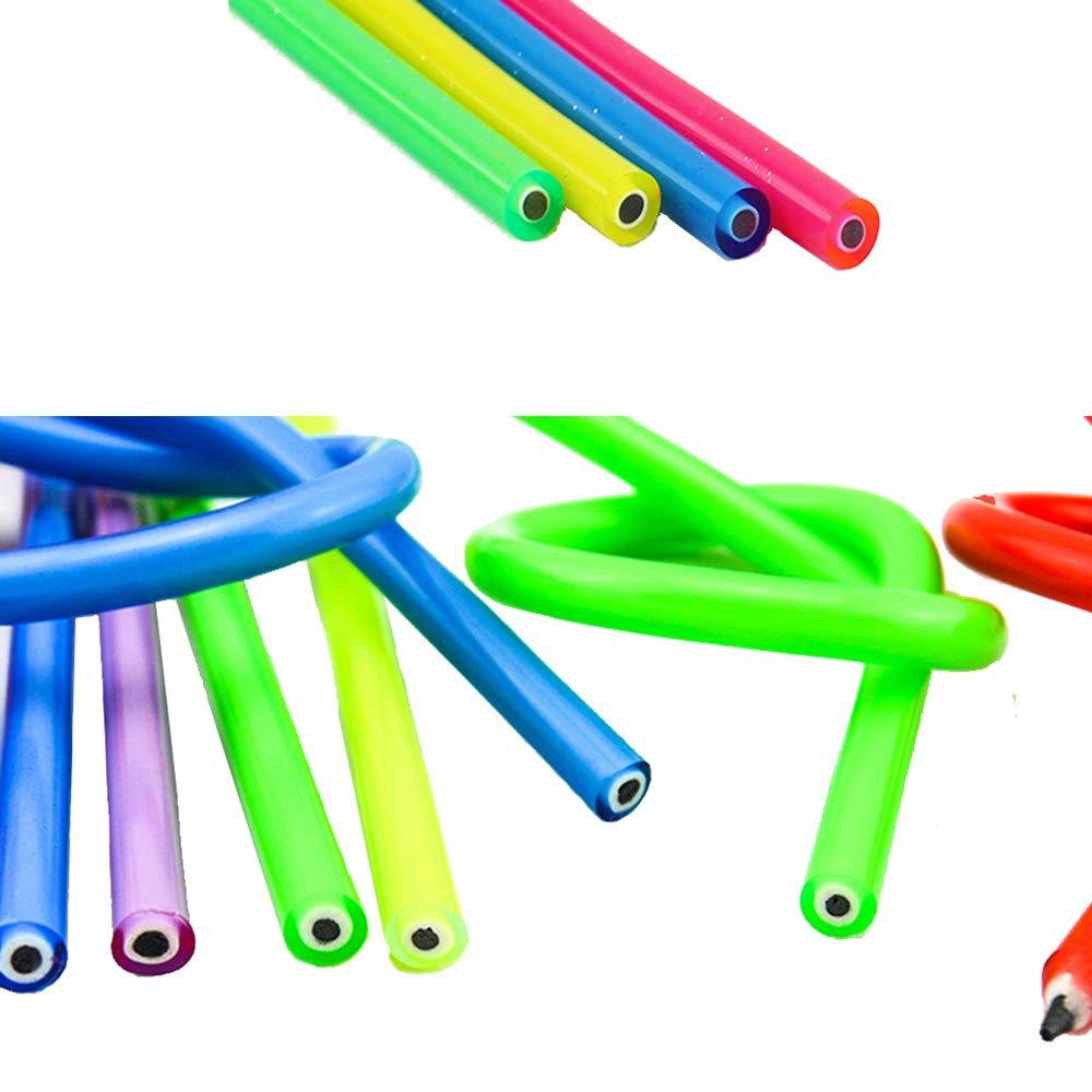 Details about  /Flexible Bendy Lead Pencils x 24 Purple Ideal Teacher Gift Party Filler