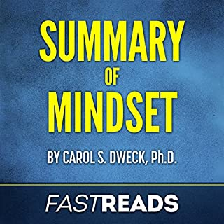 Summary of Mindset by Carol Dweck cover art