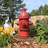 Design Toscano QL5468 Puppy Pee Post-Dog's Second Best Friend Fire Hydrant Statue