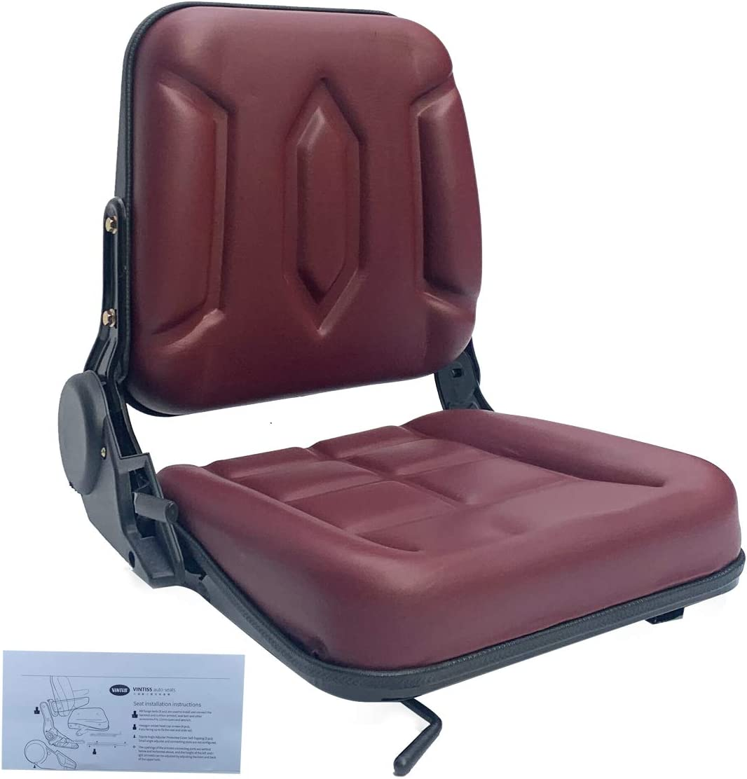 SOFEDY Universal Riding Max 46% OFF Lawn Mower Seat Nippon regular agency Slid Forklift with