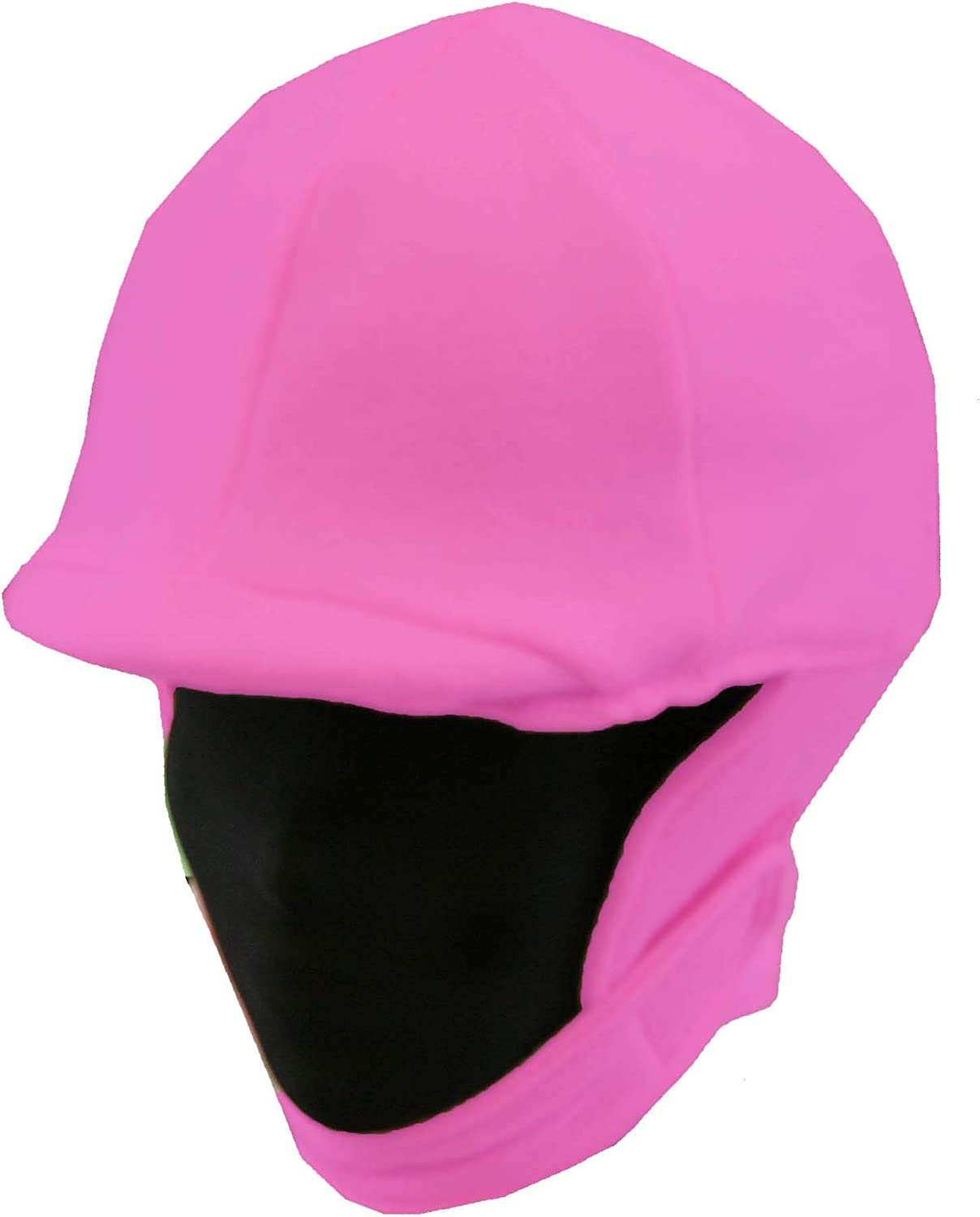 Max 75% OFF Fleece Equestrian Riding Helmet Pink Hot - Limited price Cover