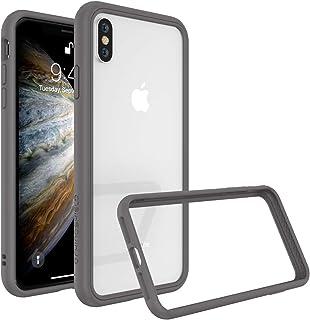 RhinoShield(ライノシールド) iPhone XS/iPhone X用 バンパーケース 衝撃吸収 スリム設計 [3.5mの落下保護] - グラファイト
