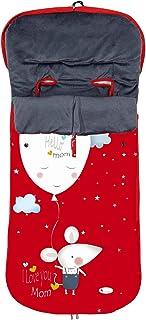 comprar comparacion Saco POLAR de Invierno de Silla de Paseo - (Universal-Bugaboo-Mclaren) - Color: Rojo - OFERTA