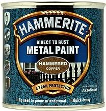 Hammerite 5084822 Direct naar roest metaalverf - gehamerd koper afwerking 250ML