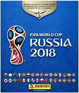 Panini 2018 FIFA WORLD CUP RUSSIA HARD COVER ALBUM