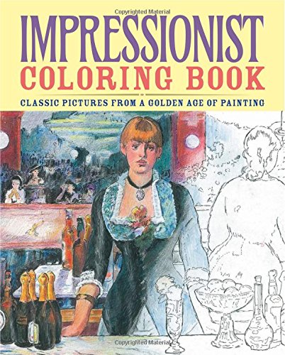 Impressionist Coloring Book (Chartwell Coloring Books)