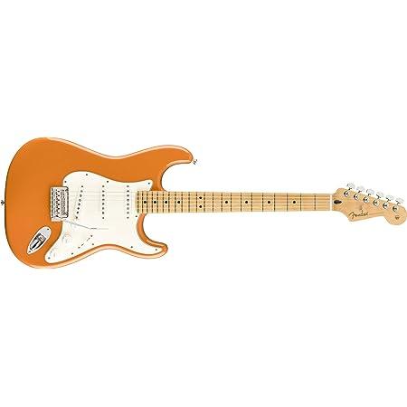 Fender Player 6 String Solid-Body Electric Guitar, Right, Capri Orange, Full (144502582)