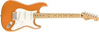 Fender Player 6 String Solid-Body Electric Guitar, Right, Capri Orange, Full (144502582)