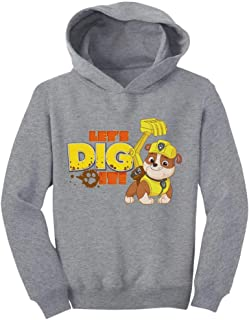 Tstars Official Paw Patrol Rubble Let's Dig It Toddler Hoodie