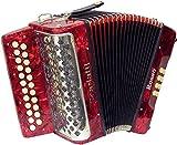Scarlatti Rosso B-C - Melodeón/acordeón