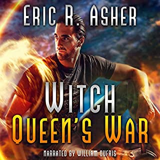 Witch Queen's War     Vesik, Book 7              By:                                                                                                                                 Eric Asher                               Narrated by:                                                                                                                                 William Dufris                      Length: 9 hrs and 32 mins     362 ratings     Overall 4.8