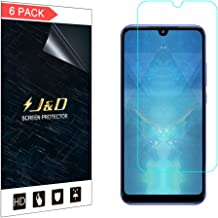 J&D Compatible for 6-Pack Redmi 7 Screen Protector, [Not Full Coverage] Premium HD Clear Film Shield Screen Protector for Xiaomi Redmi 7 Crystal Clear Screen Protector