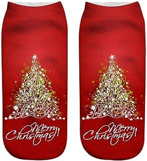 DEELIN Sale Womens Socks Unisex Christmas Socks Funny 3D Fashion Printed Casual Socks Cute Low Cut Ankle Socks Mens Novelty