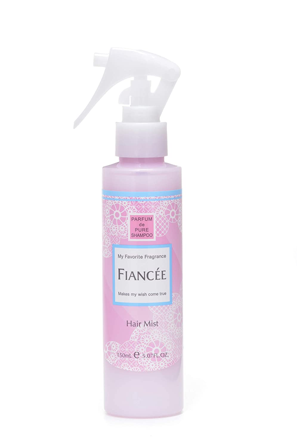 FIANCEE All items Industry No. 1 in the store SCENTED HAIR MIST PURE SHAMPOO mL FRAGRANCE 150