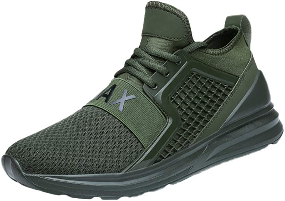 Mens Shoes Clearance F_Gotal Lace-Up Bargain sale Max 58% OFF Mesh Running Lightwei