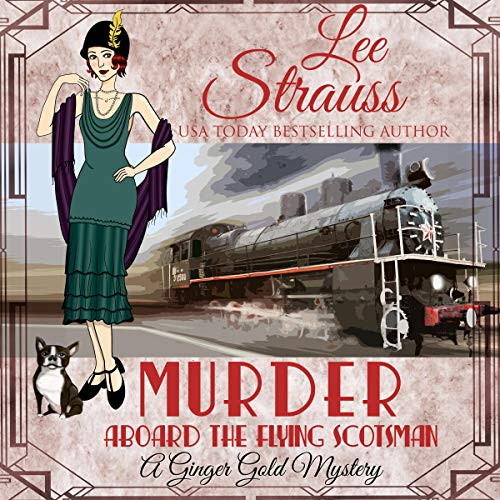 Murder Aboard the Flying Scotsman cover art