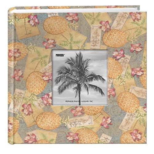 Pioneer álbumes de Fotos 200-pocket Palm diseño de árboles Funda de Tela de Marco álbum de Fotos para 4por 15,24cm Impresiones