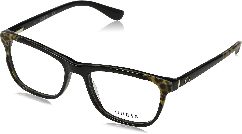 Optical frame Guess Acetate Shiny Black  Marble Brown (GU2615 005)