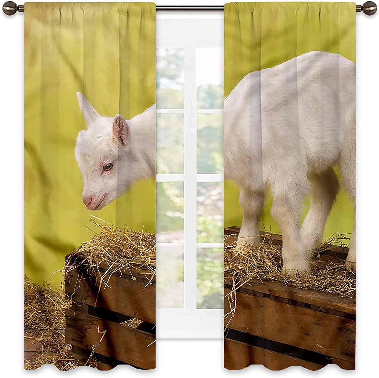 Goat Shading Special price Special price Insulated Curtain Baby Hay Soun with Animal Crate
