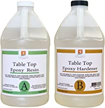 Table TOP EPOXY Resin 2 Gallon Kit. for Super Gloss Coating