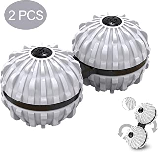 Rotating Gyro Massager Conjoined Massage Ball Rotating Gyro Environmental Protection Alloy Hand Cervical Spine Leg Massage...