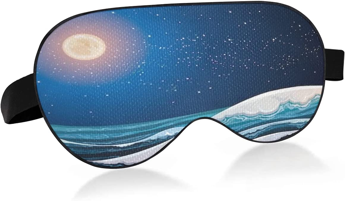 Sleep Mask with Eyes That Block Directly managed store Kansas City Mall Dry Light Night and Relieve