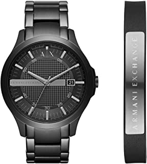 Stainless Steel Y-Link Bracelet Watch