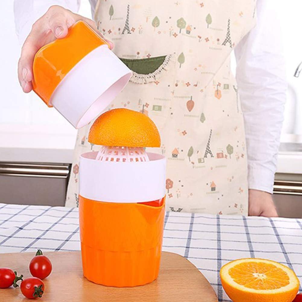 ukoudadao9haowanh Handpresse Orangenpresse Manuelle Obstmaschine Zitruspresse Zitronenpresse Werkzeug Küche Fruchtpresse rose