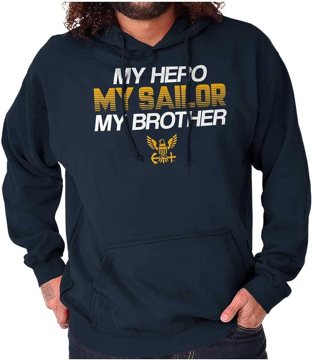 My Hero Max 78% OFF Sailor Brother Navy Sweatshirt Hoodie Men Women Albuquerque Mall Sibling