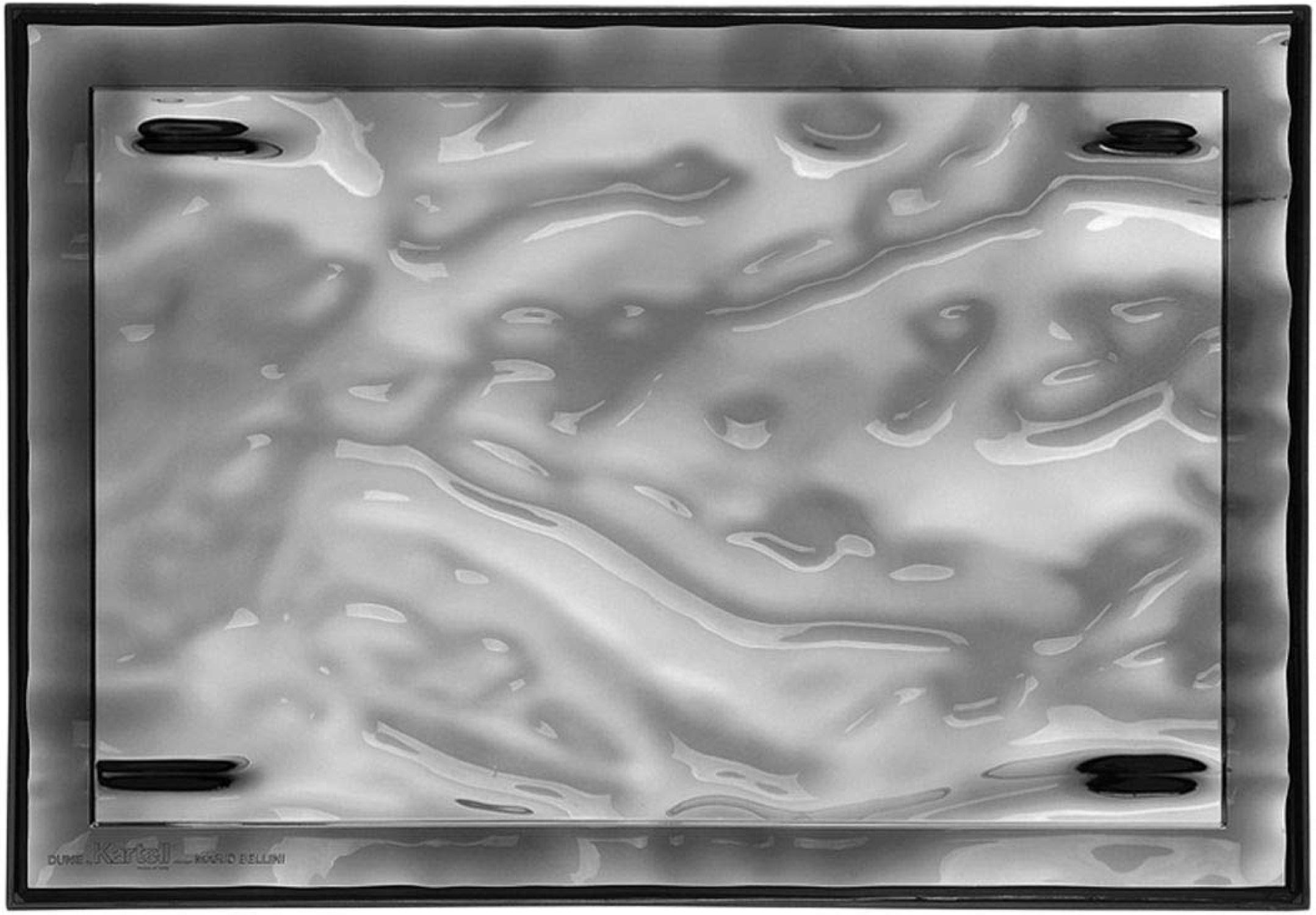 Kartell Plateau Dune grand, Plastique, Smoked, Piccolo
