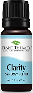 Plant Therapy Clarity Synergy Essential Oil Blend 10 mL (1/3 oz) 100% Pure, Undiluted, Therapeutic Grade