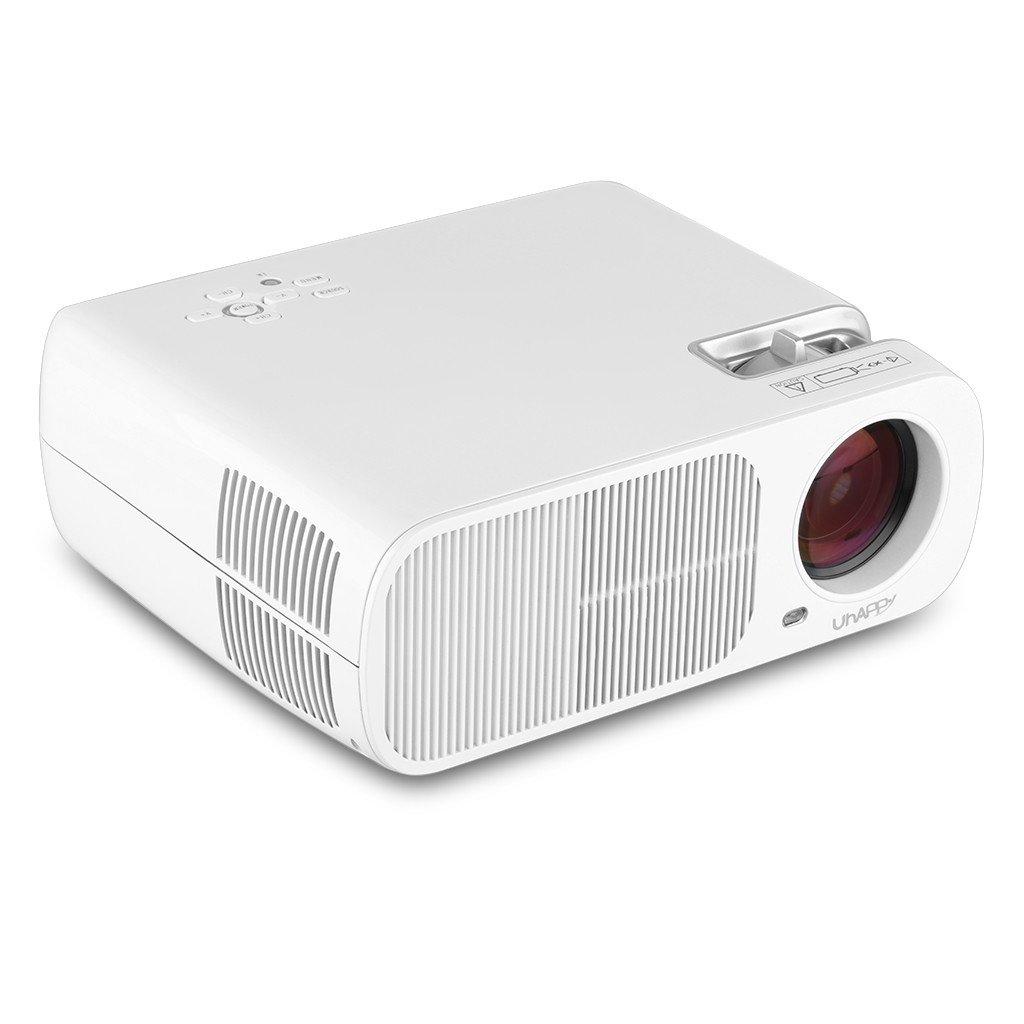 Uhappy BL20 - Mini Proyector Portátil (110W, 1080P, 2600 Lumenes ...