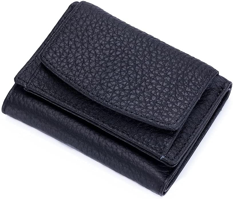 Genuine First Layer Max 81% OFF Cowhide Cheap mail order specialty store Leather Blocki Women Wallet for RFID