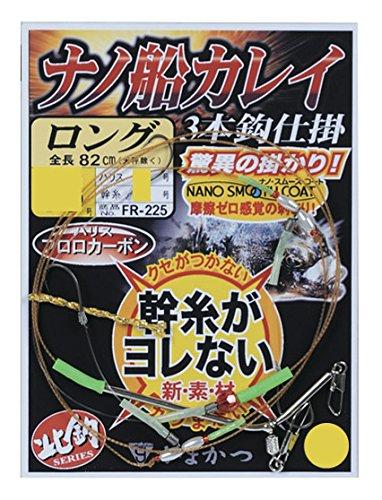 がまかつ(Gamakatsu) ナノ船カレイ仕掛(ロング) 12-4