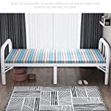 XUEXIONGSP Erwachsene Klappbett, Bewegliches Faltbare Bett Für Lieferanten Büro Nap Und Heim Lounging 186 × 100 × 40CM,100cm