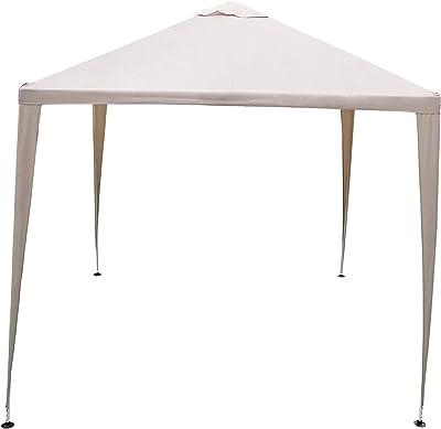 TOOLPORT Cenador de jardín 3x4 m Impermeable ALU Deluxe con 4 ...