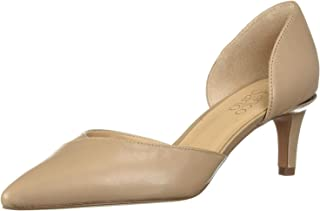 Franco Sarto Women's Daisi Pump, Beige Leather, 8 M