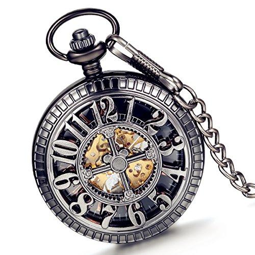 LANCARDO Herren Damen Armbanduhr Analog mit Metall Armband LCD100563