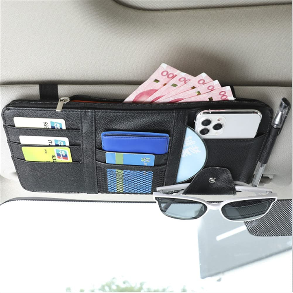Year-end annual account Kartisen Car Sun Visor Pocke Accessories Organizer-Auto Interior Sales of SALE items from new works