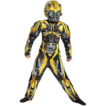 Horror-Shop Transformers Abejorro Niño Disfraz De Músculo L ...