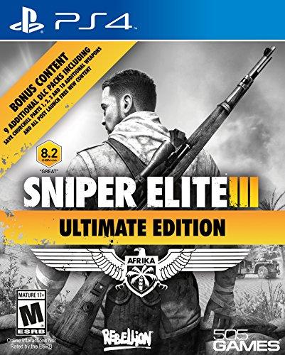 505 Games Sniper Elite III Ultimate Edition, PS4 - Juego (PS4, PlayStation 4, Soporte físico, Shooter, Rebellion Developments Ltd, 3/10/2015, M (Maduro))
