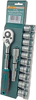 """Brüder Mannesmann Werkzeuge Mannesmann 12-częściowy zestaw kluczy nasadowych 12,5 mm (1/2"""") napęd, M29111"""