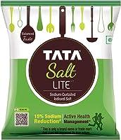Tata Salt Lite, 15% Low Sodium Iodised Salt, 1kg