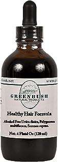Greenbush Healthy Hair Formula | 4 oz Liquid Extract | Hair Regrowth, Beauty, and Renewal