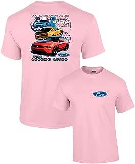 Ford Mustang Boss 302 T-Shirt Legend Lives Design