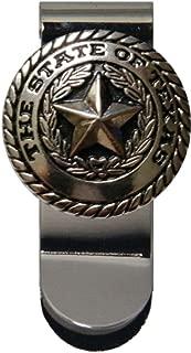 Custom Texas Silver Seal Money Clip