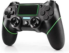 JAMSWALL Controller Wireless per PS4, Gamepad Bluetooth per Playstation 4 Controller di Gioco Wireless Doppio Shock a Sei-...