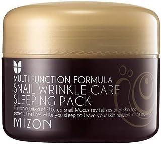 Mizon Snail Wrinkle Care Sleeping Pack 80 Ml, 80 ml