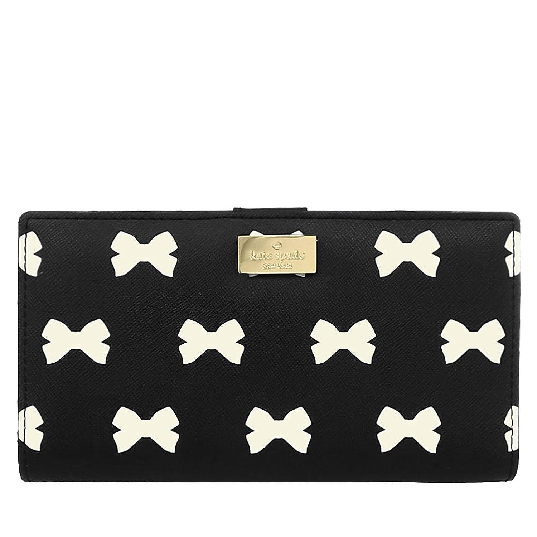 [ケイトスペード] kate spade 財布 (長財布) WLRU1905 ブラック×クリーム レディース [アウトレット品] [並行輸入品]